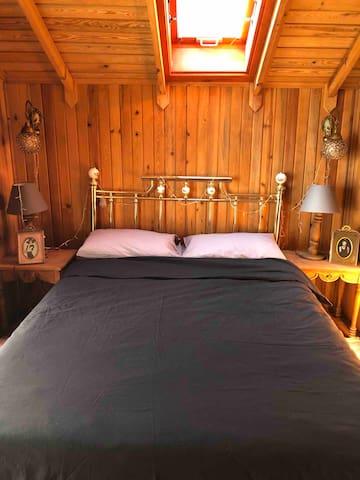 Çift kişilik yatak odası