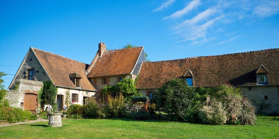 Normandy Beautiful Country Home in Gancourt