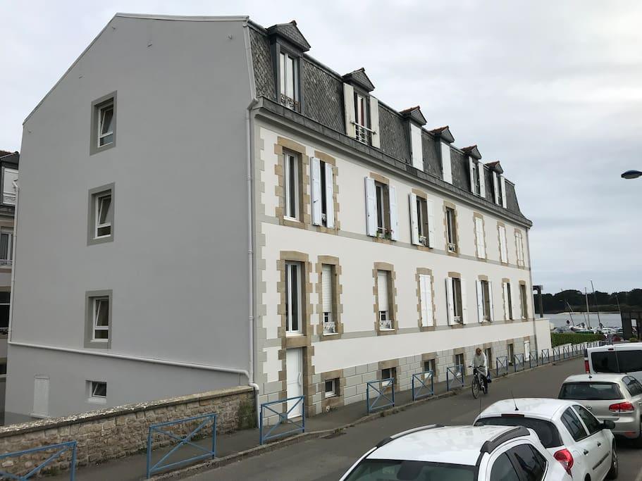 la résidence Pen Lannic