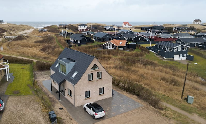 Newly built holiday home in Lokken 300m from beach