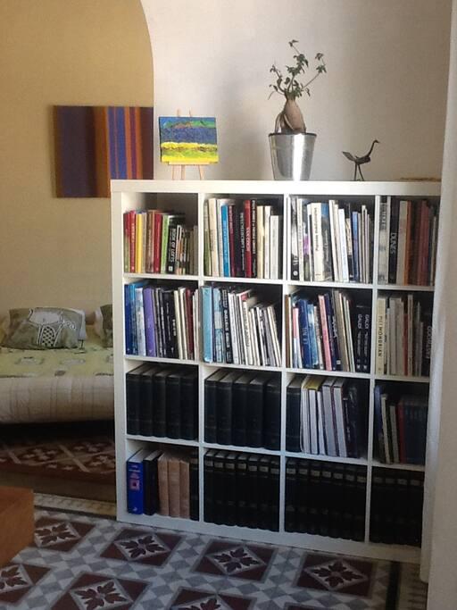 Le carrelage au charme d'époque et les livres à consulter