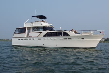 60' Yacht in Private Marina - Patchogue - Boot