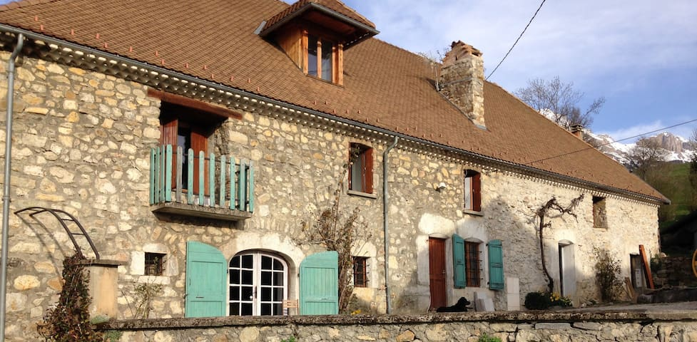 La ferme de Marthe - Gîte Vercors - saint baudille et pipet - Talo