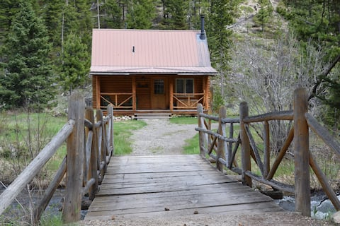 Potosi Hot Springs Cabin Rentals BEAR CABIN