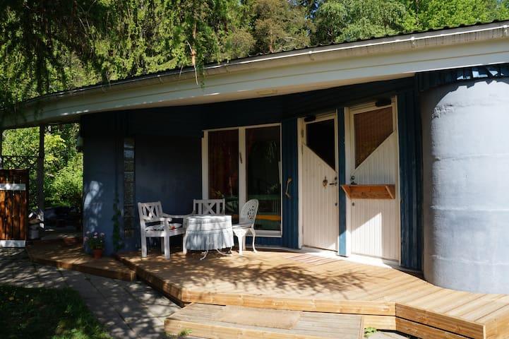 Sininen pieni puutalo - Espoo - House