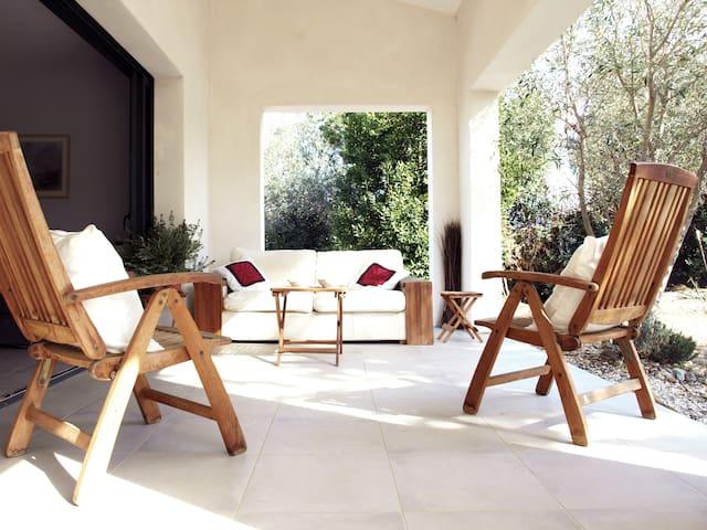 Maison de charme, jardin & mer - Perpignan - House