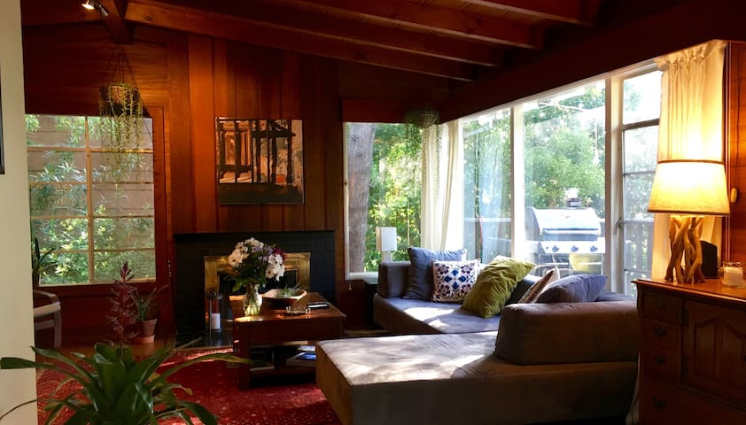 Charming and very cosy Marin hideaway (4B/3B) - Corte Madera - Casa