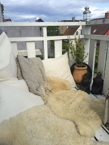Upscaled area villa apartment - Klampenborg - Byt
