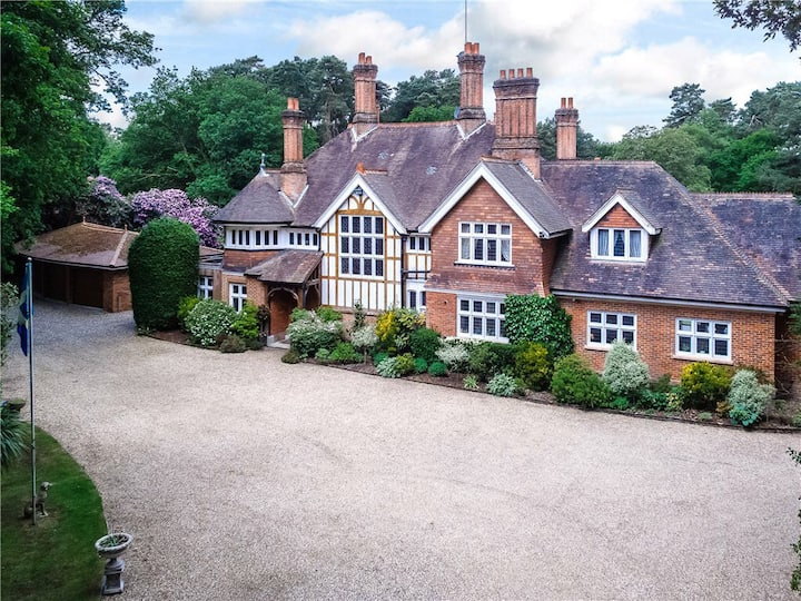 Exclusive Victorian Mansion with Heated Pool