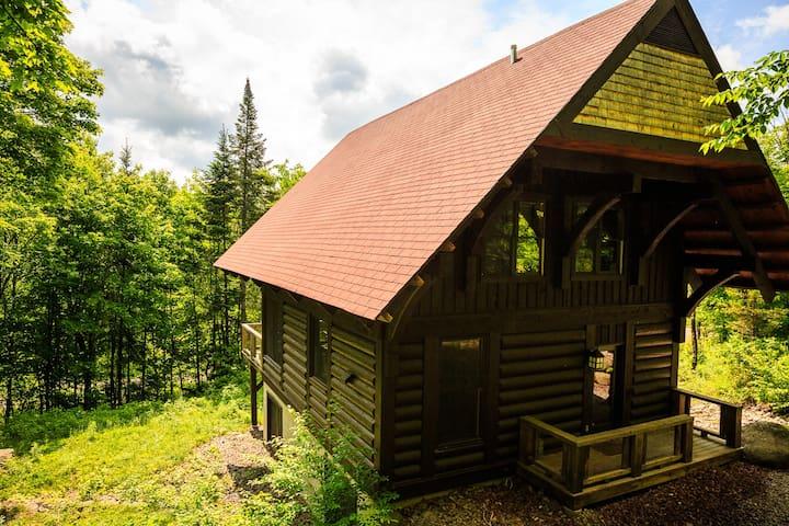 Log Cabin Mont Tremblant - Lac-Supérieur - Cabaña
