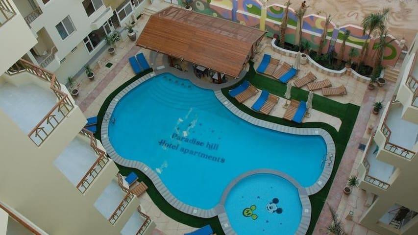 Top 20 Ferienwohnungen Hurghada, Ferienhäuser, Unterkünfte ... Design Des Swimmingpools Richtig Wahlen