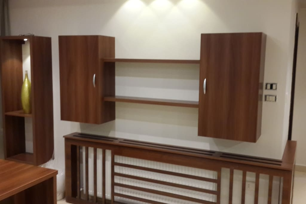 wall unit at the office