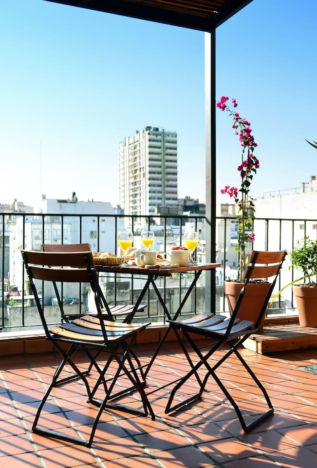 New! Sunny Apart. with own Terrace!
