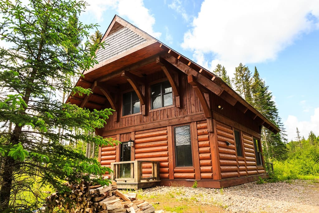 Log Cabin Mont Tremblant Chalets For Rent In Lac