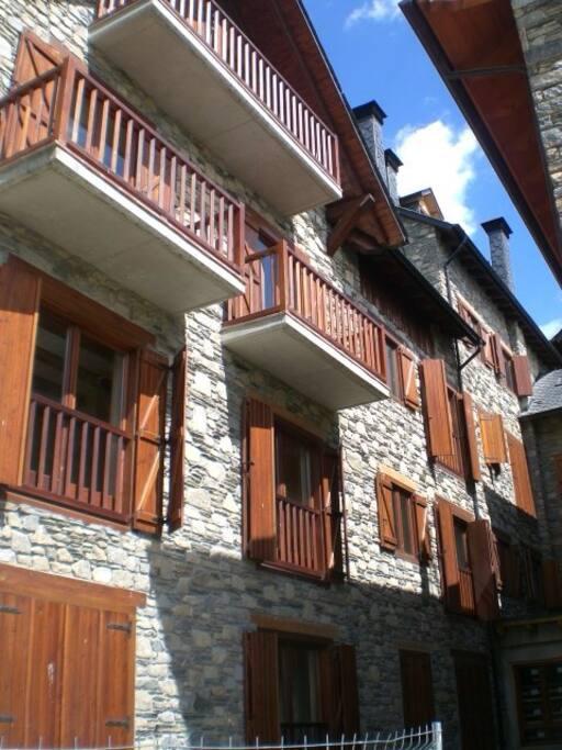 Fachada situacion Apartamento