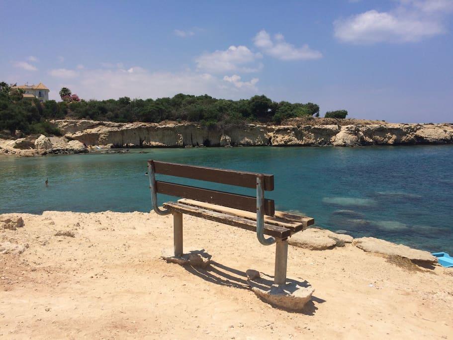 Malama beach - 3 minute walk