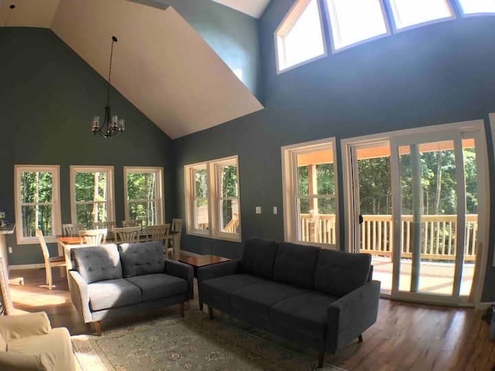 'Into the Woods'-- Stunning New Tug Hill Retreat