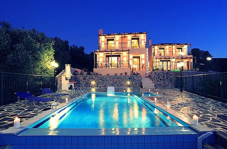 VillaCrete, cosmopolitan & ethereal - Ρέθυμνο - Casa de campo