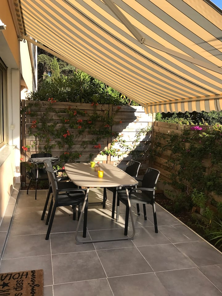 Lovely Studio with spacious sunny terrace