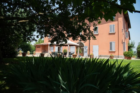 Country villa  : Charmerende Studio - parkering, wi-fi