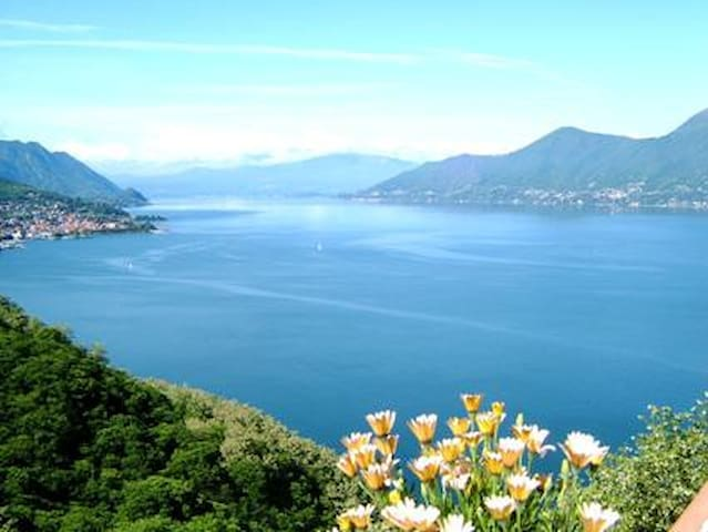 large terrace overlooking the lake - Luino_Bonga - Apartemen