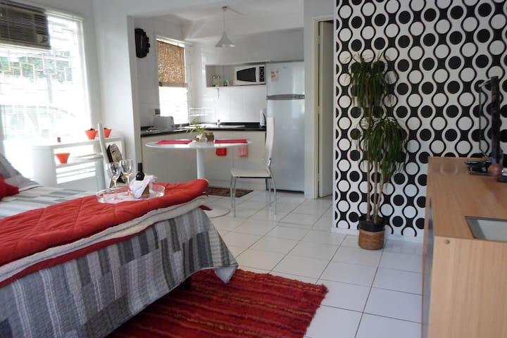 Small bright interior apartment - Santiago - Casa