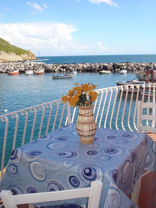 Cenare sul mare