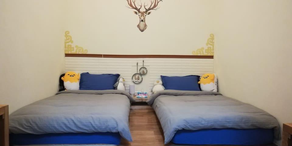 金門·友鹿食館·民宿-日式和风双床型