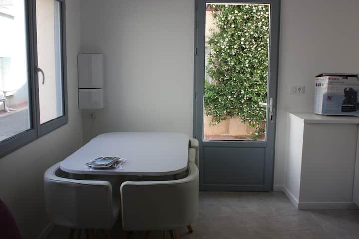 petite maison typique pointe courte à Sète