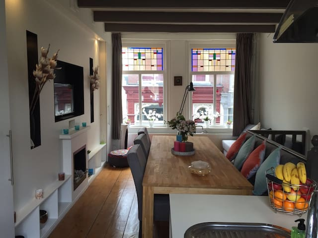 Appartment in old city centre in the oldest street - Dordrecht - Townhouse