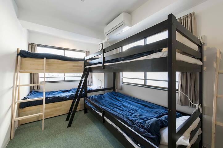 # 5 Near UENO&ASAKUSA, Mixed Dormitory Room