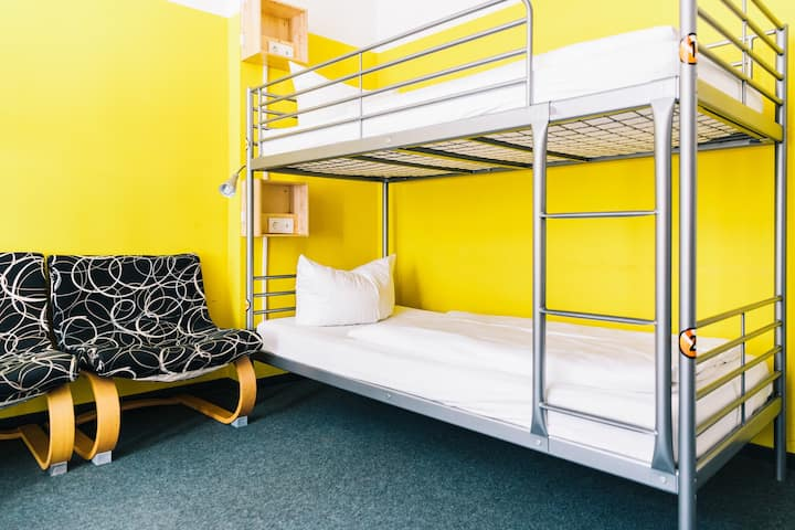 Bed in 6 Bed Dorm