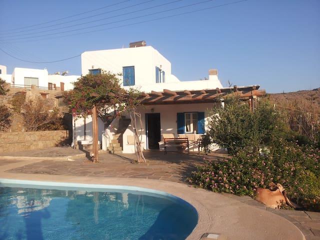 Traditional Villa in Mykonos - Agios Ioannis Diakoftis - House