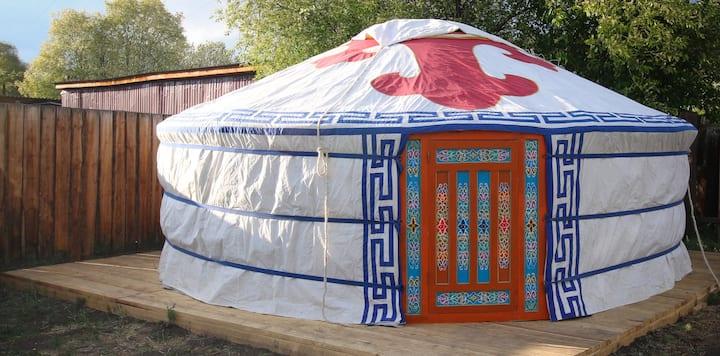 Yurt stay in Ulan-Ude. Buryatia