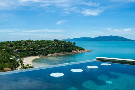 Villa Ihana Beach Side Panorama - Ko Samui