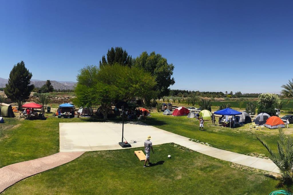 20 campsites