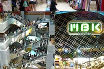 MBK Shopping Mall Center at BTS National Stadium.(Only 4 stations from BTS Sanampao)