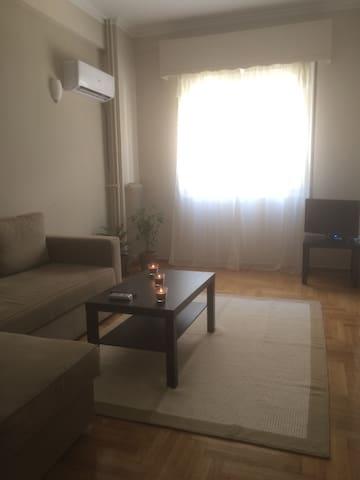 New entry 5' away from metro - Athina - Apartament