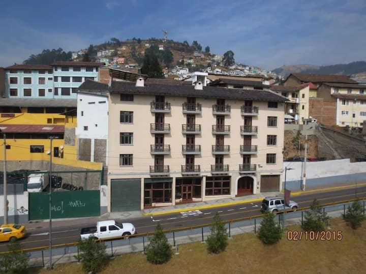 Habitación Twin- Hotel Cumandá