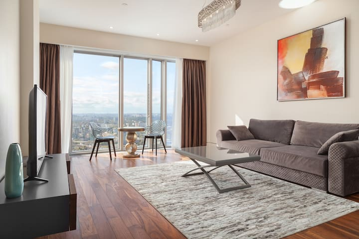 Moscow City apartments Luxury up to 75 floors