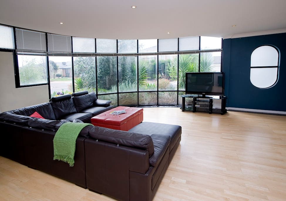 Very spacious and comfortable Living area