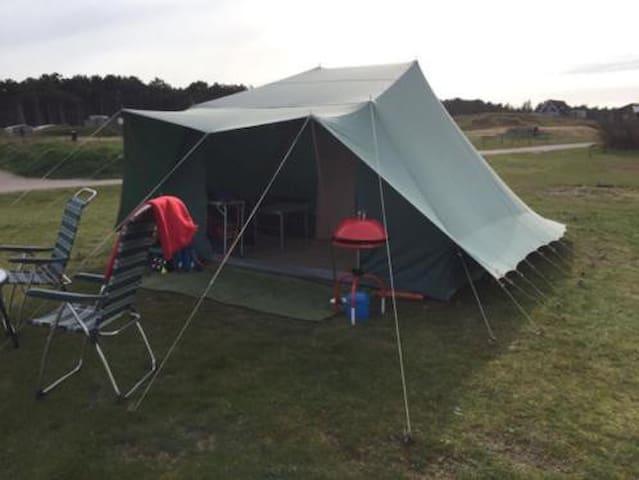 Kant-en-klaar kamperen op Vlieland! Vlak aan zee. - Oost-Vlieland - Tenda