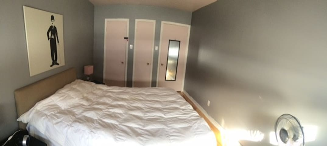 Charmant room near downtown Quebec - Quebec - Byt