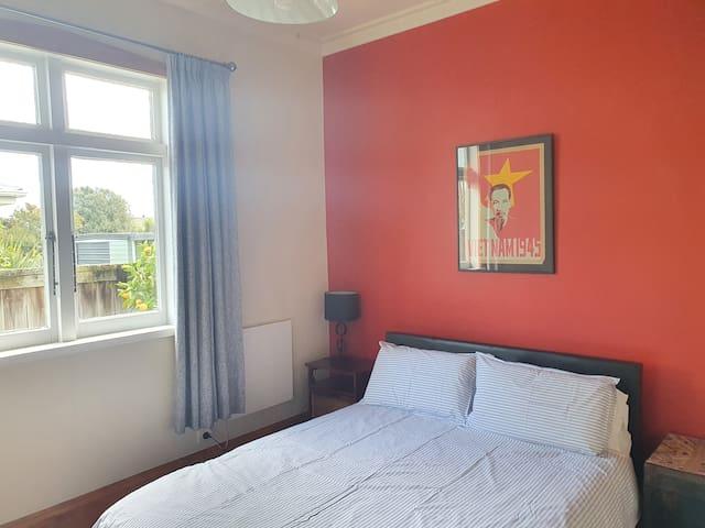 Bedroom 2 has a Queen Bed