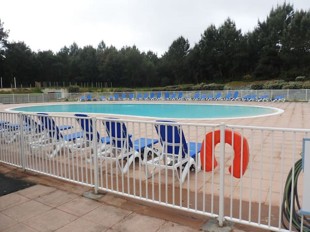 T1 bis Soustons Plage, avec piscine