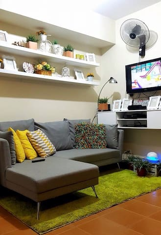 Cozy and homey 1bdrm in makati - Makati - Condominium