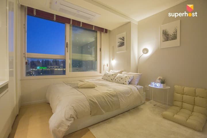 Penthouse in Songdo/Near G-Tower(2min on foot)