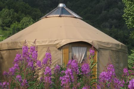 Peaceful Alaskan Yurt in Homer - Homer