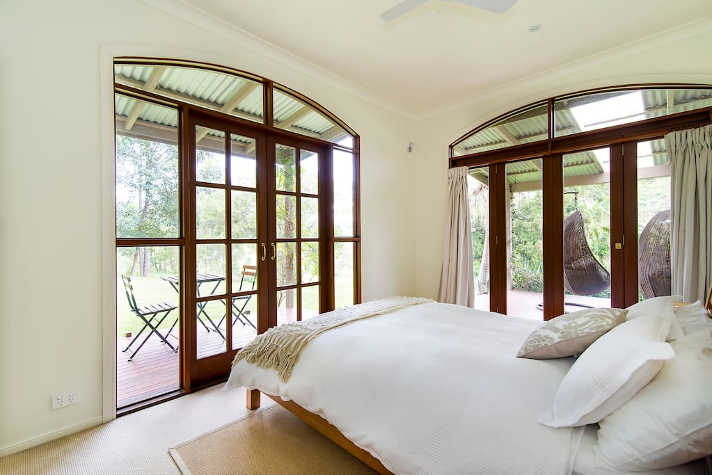 Master Bedroom opens onto large verandah as well as private deck