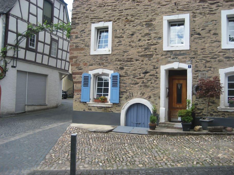 Unser altes Winzerhaus